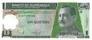 1 Quetzal – avers