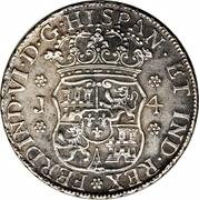 4 reales - Ferdinand IV (monnaie coloniale) – avers