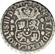 1 Real - Carlos III – avers