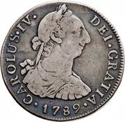 4 Reales - Carlos IV – avers