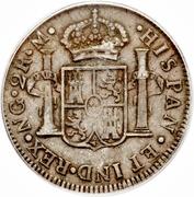 2 Reales - Fernando VII – revers