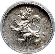 ¼ real - Ferdinand VII (monnaie coloniale) – avers