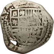 2 Reales - Felipe IV (countermarked coinage) – avers