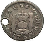 ½ Real - Carlos III – revers