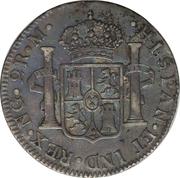 2 Reales - Carlos IV – revers