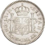 1 Real - Fernando VII – revers
