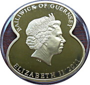 5 Pounds Elizabeth II (90 Years of The Royal British Legion-Festival of Remembrance) – avers