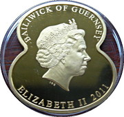 5 Pounds Elizabeth II (90 Years of The Royal British Legion-Earl Douglas Haig) – avers