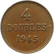 4 doubles – revers