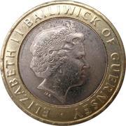 2 pounds - Elizabeth II (4eme effigie) – avers