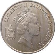 10 pence - Elizabeth II (3eme effigie, grand module) -  avers