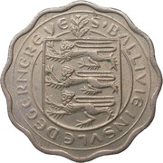 3 pence - Elizabeth II (flan épais) – avers