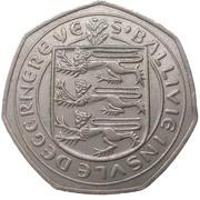 50 new pence - Elizabeth II -  avers