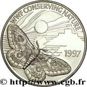 2 pounds - Elizabeth II (3eme effigie; Empereur Moth) – revers