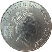 2 Pounds - Elizabeth II (3rd portrait; Liberation) – avers