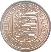 ½ new penny - Elizabeth II – avers