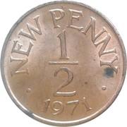 ½ new penny - Elizabeth II – revers