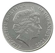 10 Pence - Elizabeth II - Common Dolphin – avers