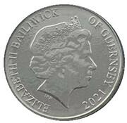 10 Pence - Elizabeth II - Puffin – avers