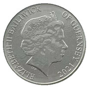 10 Pence - Elizabeth II - The Common Seal – avers