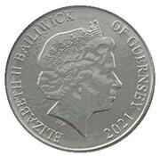 10 Pence - Elizabeth II - The Herring Gull – avers