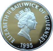 5 Pounds - Elizabeth II (la Reine mère) – avers