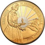 5 pounds - Elizabeth II (4th portrait; Florence Nightingale) – revers