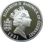 2 Pounds - Elizabeth II (Roi Henry II) – avers