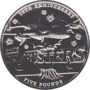 Guernsey Dambusters £5 – revers