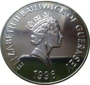 5 pounds - Elizabeth II (3eme effige - Football européen) – avers