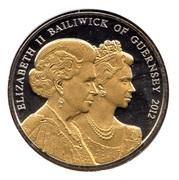 5 Pounds - Elizabeth II (Diamond Jubilee) – avers