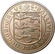 5 new pence - Elizabeth II -  avers