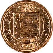 1 new penny - Elizabeth II – avers