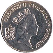 2 pounds - Elizabeth II (3eme effigie; Libèration) – avers