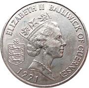 2 pounds - Elizabeth II (3eme effigie; Henry II) – avers