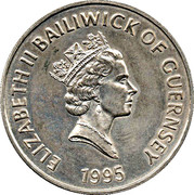 5 pounds - Elizabeth II (3eme effigie; reine mère) – avers