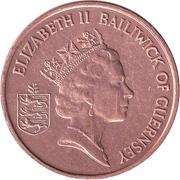 1 penny - Elizabeth II (3eme effigie) – avers