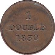 1 double -  revers