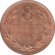 8 doubles – revers