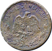 10 centavos (Atlixtac) – avers
