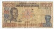 1000 Francs Guinéens – avers
