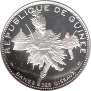 500 Francs guinéens (Danse des Oiseaux) – avers
