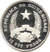 10 000 pesos (Nuno Tristão) – avers