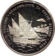 10 000 pesos (Nuno Tristão) – revers