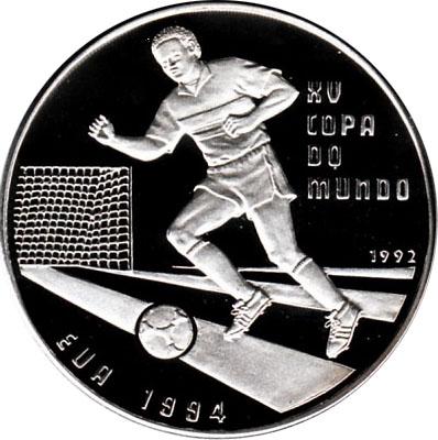 10 000 pesos coupe du monde de football usa 1994 guin e bissau numista - Coupe du monde football 1994 ...