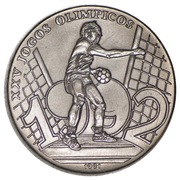 2000 Pesos (Jeux olympiques Barcelone 1992) – revers