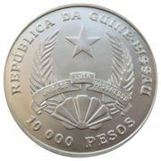 10 000 Pesos (Coupe du monde de football USA 1994) – avers