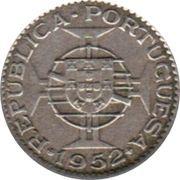 2½ escudos – revers