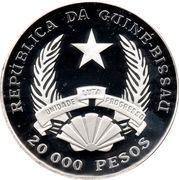 20 000 Pesos (FAO) – avers