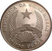 20000 pesos (Bateau Passat) – avers